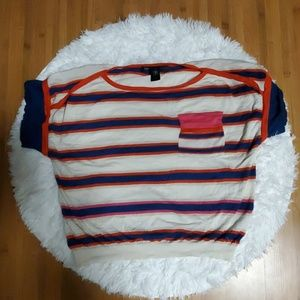 MARC BY MARC JACOBS SHORT SLEEVE SWEATER